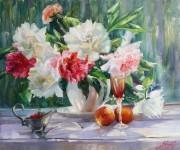 Натюрморты, цветы